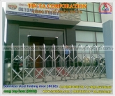 stainless steel folding door