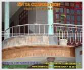 stainless steel handrails