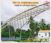 stainless steel space frame