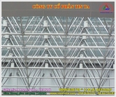 Galvanized truss space
