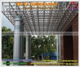 stainless steel arch roof